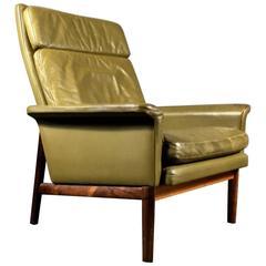 """Finn Juhl """"Jupiter"""" Lounge Chair for France & Søn, Denmark, 1960s"""