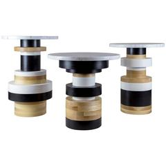 Sass Side Tables from Souda, Set of Three