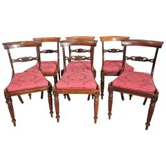 19th Century Regency Rosewood Dining Chairs
