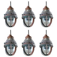 1920 Industrial Copper Pendant Lights