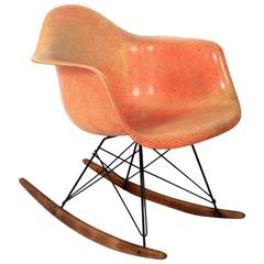 Early All Original Zenith Rope Edge Rocker designed by Charles Eames