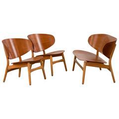 Hans Wegner, Shell Chairs and Loveseat