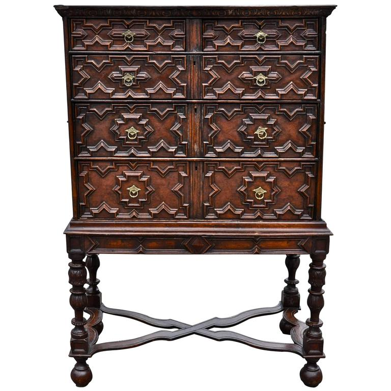 Jacobean Chest on Stand, 18th Century and Later 1