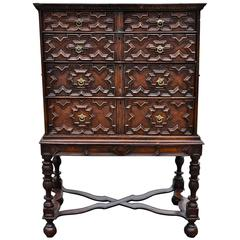 Jacobean Chest on Stand, 18th Century and Later