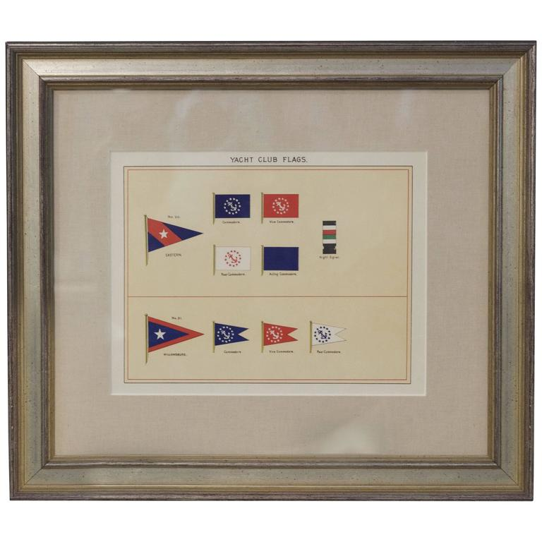 Framed Print of Private Signals of Yacht Owners