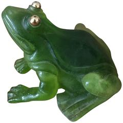 Daum Frog with Gilden Eyes