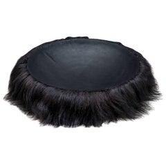 Hairy Wild Man from Botany Bay Bowl Black by Trent Jansen
