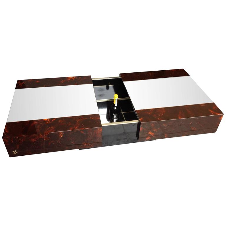 hidden bar furniture. eric maville sliding coffee table with hidden bar 1 furniture