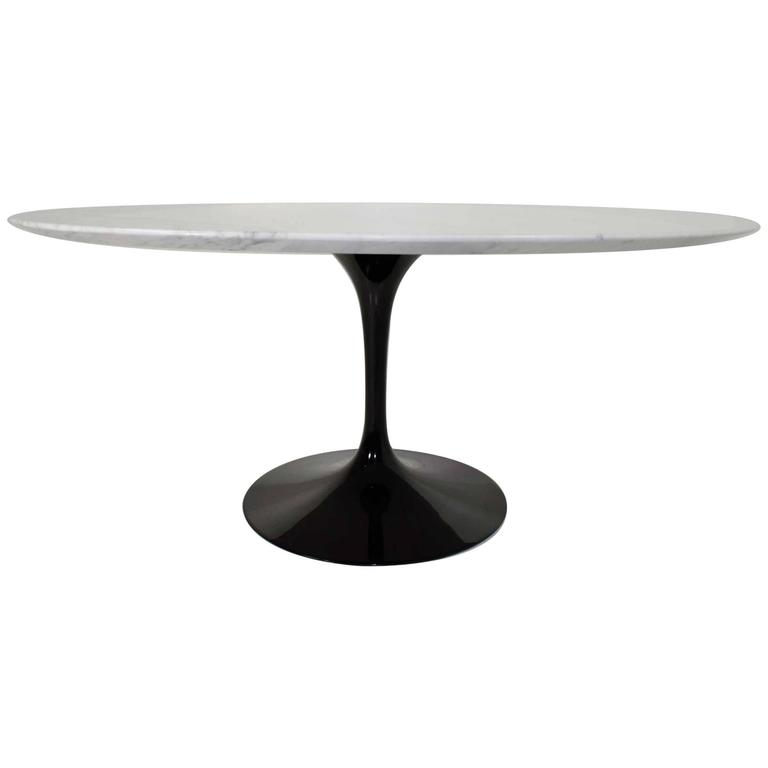 Eero Saarinen for Knoll, Marble-Top Tulip Table