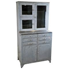 1920 Industrial Metal Medical Storage Cabinet