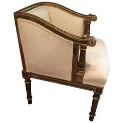 Small French Side Chair