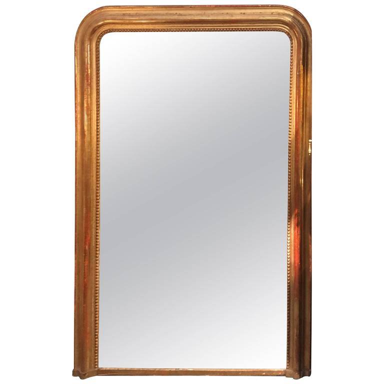 Grand french floor mirror for sale at 1stdibs for Floor mirrors for sale