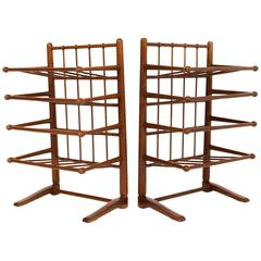 Frits Henningsen Pair of Magazine Stands
