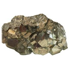 Group of Three Pyrite Specimens