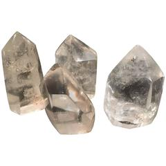 Group of Four Small Crystals