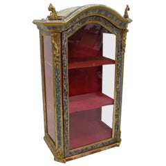 18th Century Venetian Painted Cabinet
