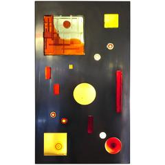 """Angelo Brotto """"Rettangolare Unico"""" Light Panel, Esperia, 1970"""
