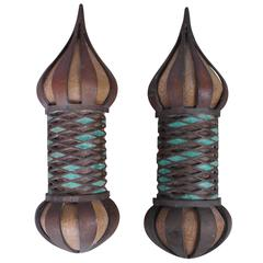 Pair of Sconces by Pepe Mendoza