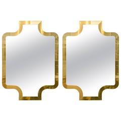 Pair of Modern Mirrors