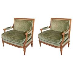 Pair of 19th Century Very Fine and Rare French Louis XVI Marquis