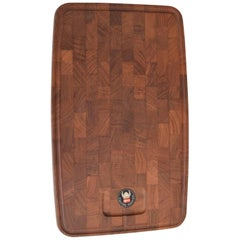 Midcentury Danish Teak Cutting Board by Digsmed Denmark, 1960s