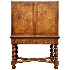 "Dutch Baroque Cabinet on Stand ""Writing Cabinet"""
