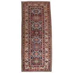 Antique Caucasian Shirvan Runner from the South Eastern Caucasus, circa 1880