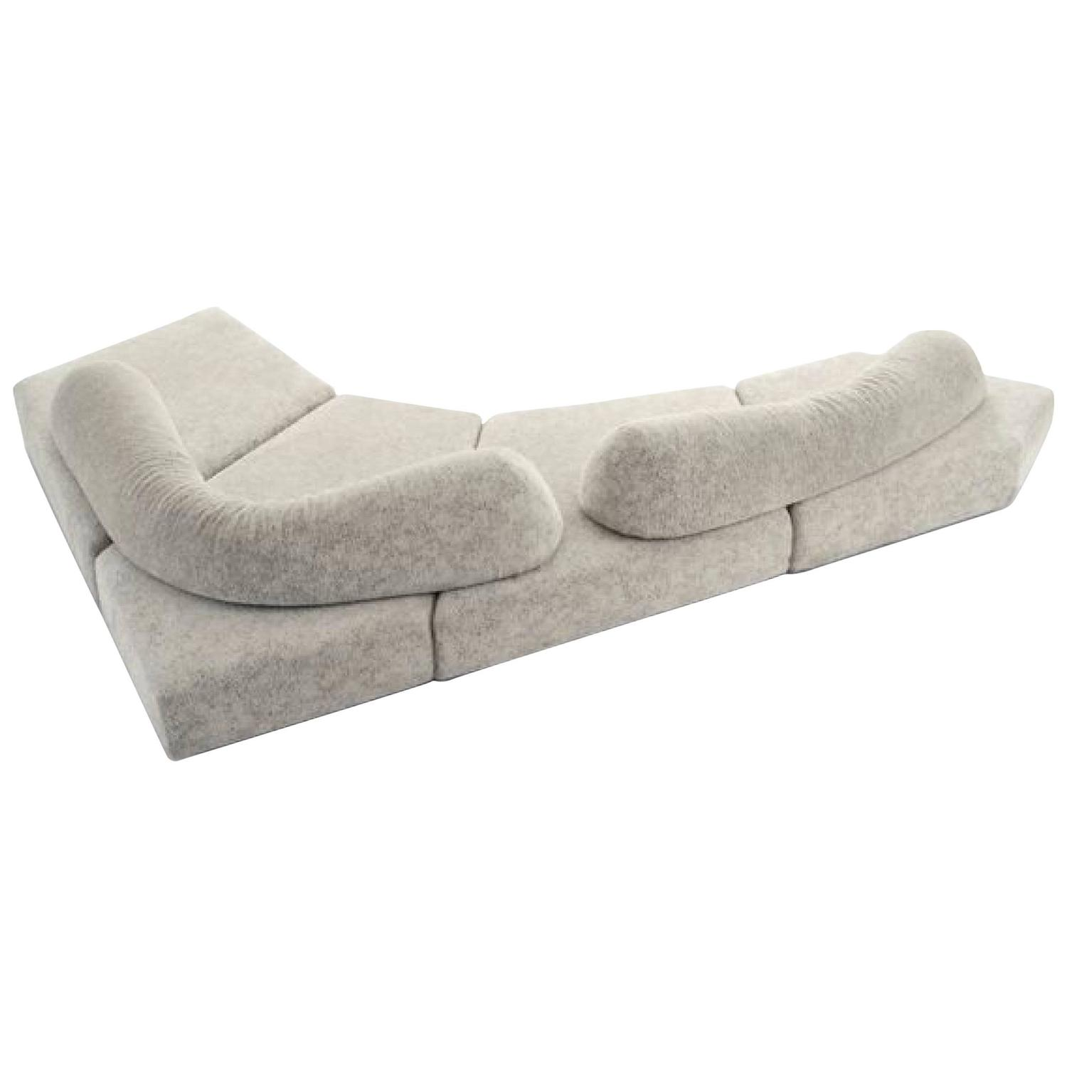 the Rocks Modular Sectional Sofa by Edra For Sale at 1stdibs