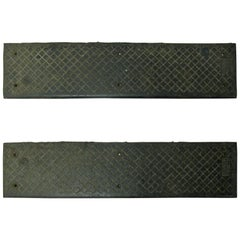 Cast Iron Stair Treads by American Abrasive Metal Corp, 39 Available circa 1910