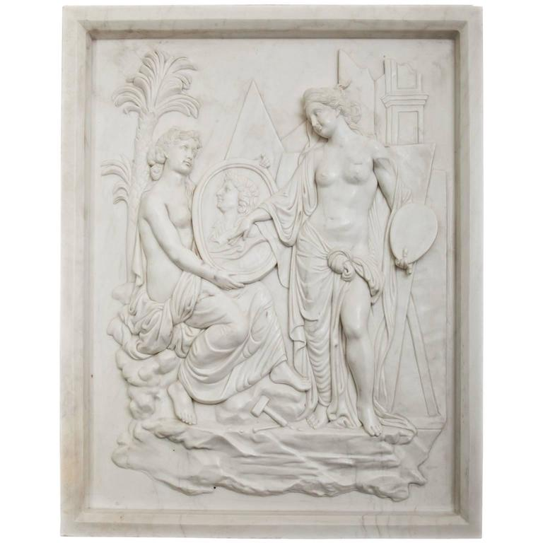 Neoclassical Style Wall Relief Second Half of the 20th Century For Sale  sc 1 st  1stDibs & Neoclassical Style Wall Relief Second Half of the 20th Century at ...