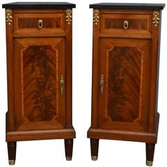 Pair of 19th Century Bedside Cabinets