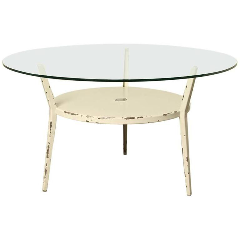 1964 Rare Friso Kramer Coffee Table For Ahrend De Cirkel: Friso Kramer Ahrend Round Coffee Table For Sale At 1stdibs