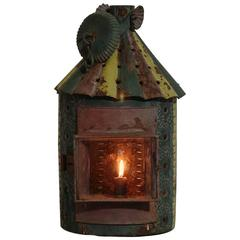 French 19th Century Metal Lantern
