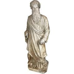 Vintage Classical Style Cast Statue