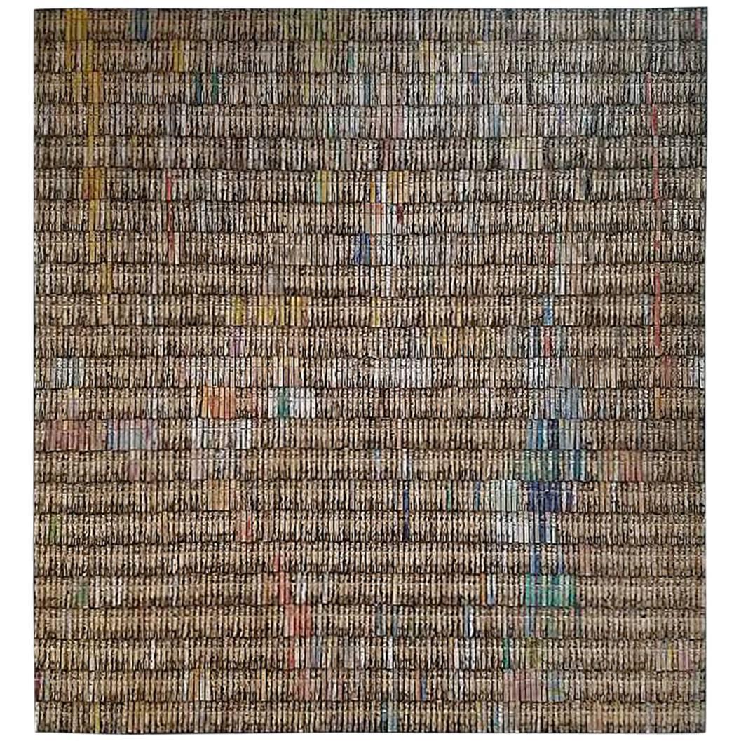 Annie Morris, Untitled Peg Piece, 2010