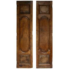 Pair of Louis XIV Walnut Doors