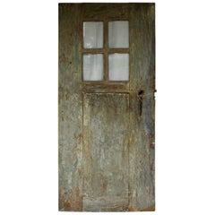 Antique Door with Original Glass