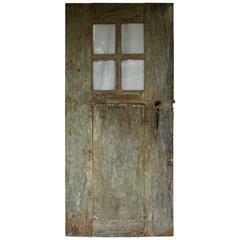 Antique Door with Original Glass