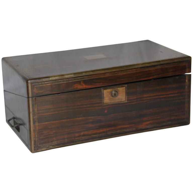 Large Antique Writing Box