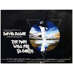 """""""The Man Who Fell to Earth"""" Film Poster, 1976"""