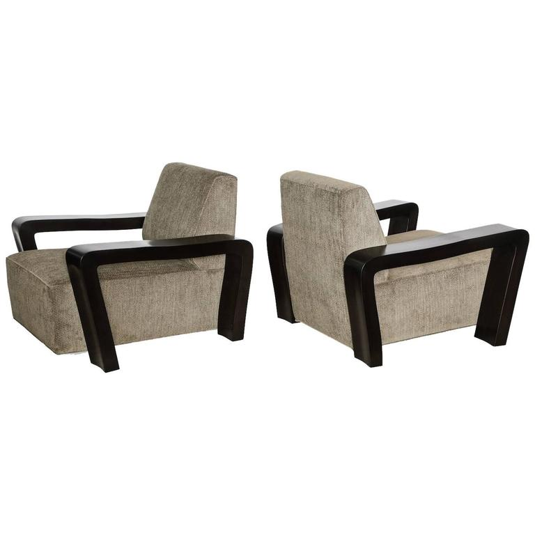 Paul Laszlo Club Chairs