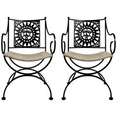 Pair of Umanoff Mayan Armchairs