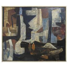 Mid-20th Century Abstract Painting