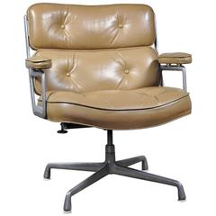 Brown Leather Eames Time Life Executive Chair