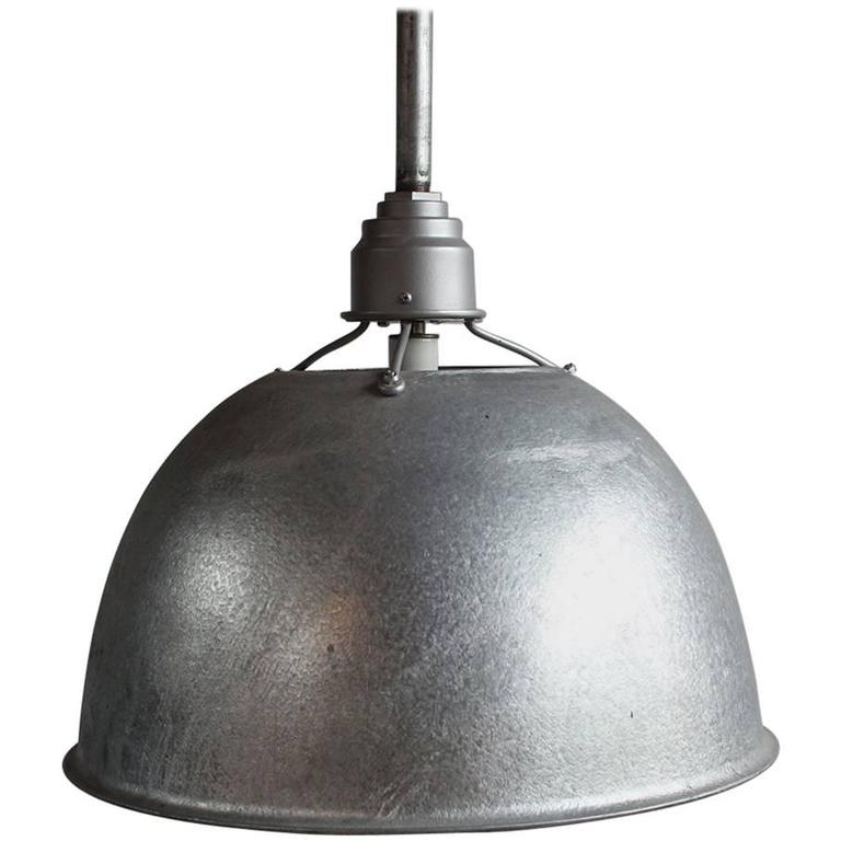 Large Industrial Oversized Metal Pendant 1