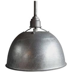 Large Industrial Oversized Metal Pendant