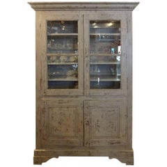 Late 19th Century French Vitrine Cabinet