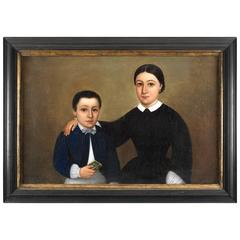 Double Portrait of a Mother and Son