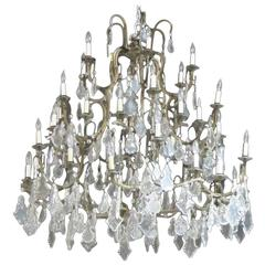 Palatial Crystal Chandeliers from Le Bec Fin