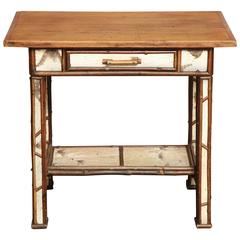 American Birch Wood Writing Table